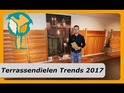 Terrassendielen Trends 2017 - Terrassenbelag Holz & WPC Dielen