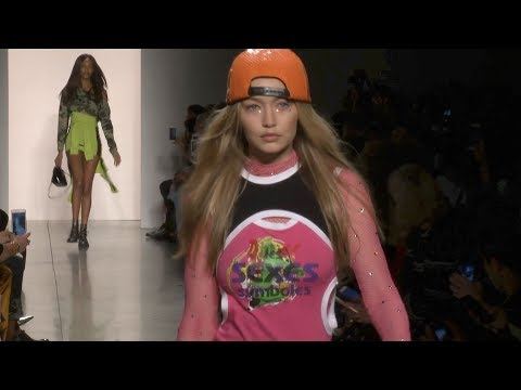 Jeremy Scott show - women's collection spring/summer 2018 in New York