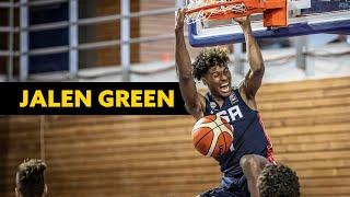 Jalen Green (Houston Rockets) • Team USA • FIBA Highlights