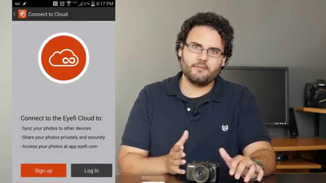 Setting Up Your Eyefi Mobi Wifi Sd Card Youtube