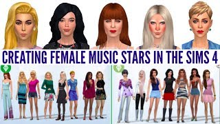 Lady Gaga, Kerli, Madonna, Björk, Florence & MORE Created in The Sims 4!