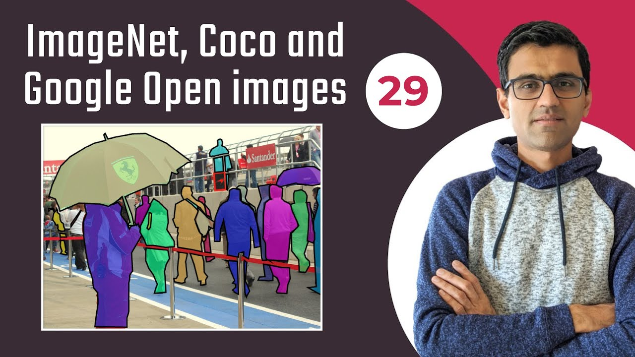 Popular Datasets for Computer Vision: ImageNet, Coco and Google Open images