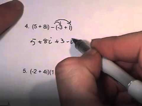 9 5 Simplifying Complex Numbers