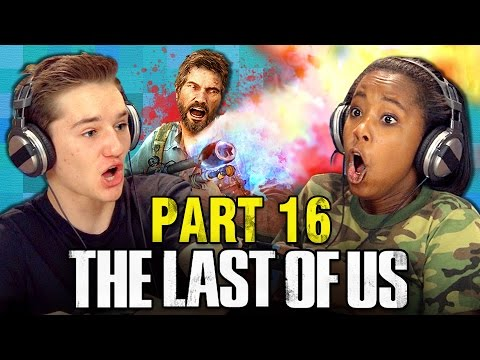 THE LAST OF US: PART 16 (Teens React: Gaming)