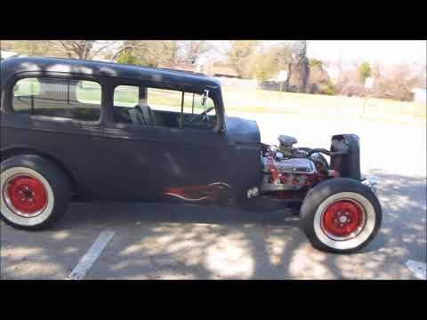 1934 Chevrolet Sedan Rat Rod - FOR SALE