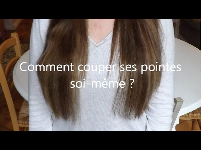 Coupe cheveux degrade seule