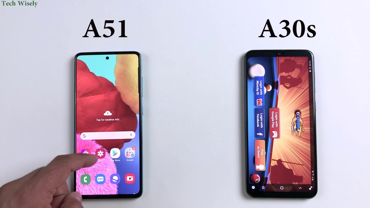 Photo of SAMSUNG A30s vs A51 | Speed Performance Test Comparison – سامسونج