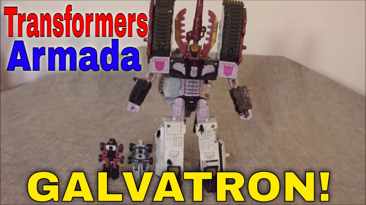 Tanks A Lot! Transformers Armada Galvatron with Clench Review by GotBot