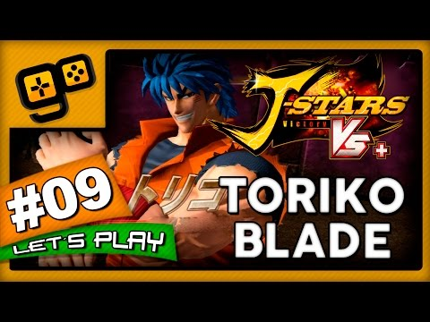 Let's Play: J-Stars Victory VS+ (LUFFY) - Parte 9 - Toriko Blade