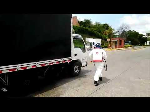 En Mercasa es estricto el control para camiones, conductores y visitantes