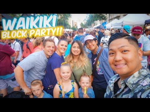 Waikiki Block Party with Bonnie and Joel | Oahu, Hawaii