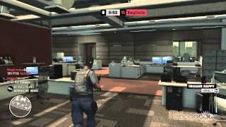 Max Payne 3 - Bringing an AK to Work Gameplay (PC)