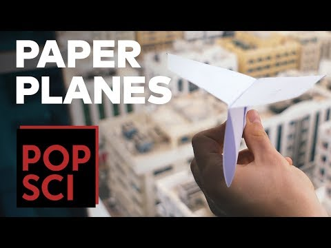 How to Make a World-Record-Breaking Paper Airplane