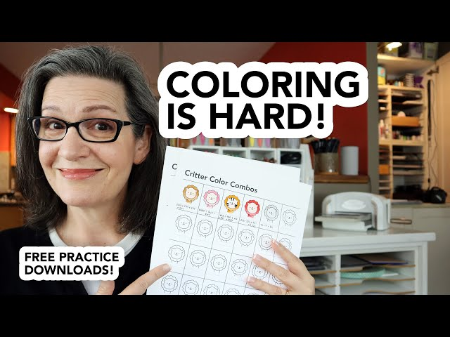 - Struggle With Copic Coloring? Me, Too! But Practice Helps! Download My Practice  Sheets! - YouTube