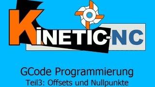 KinetiC-NC - G-Code Programmierung: Offsets und Nullpunkte