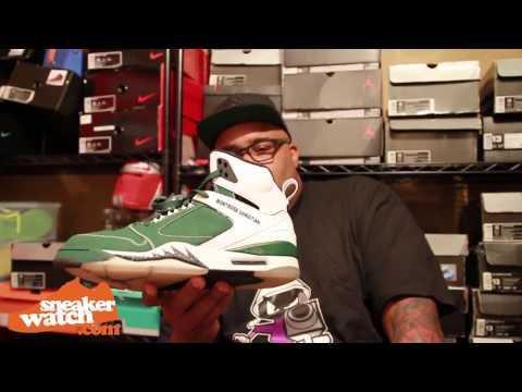 Sneakersensei Shows Crazy LeBron & Mike Bibby PEs