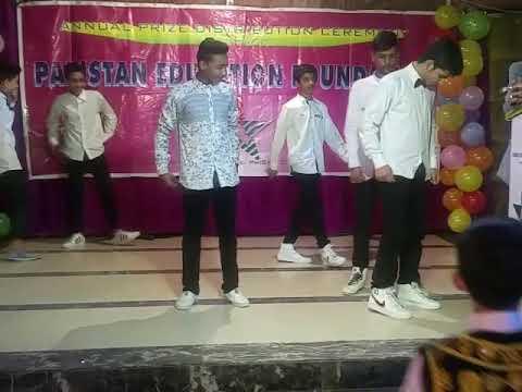 Pakistan Education Foundation School stage Dance