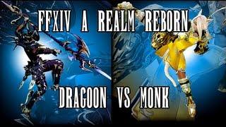 FFXIV A Realm Reborn: Dragoon vs. Monk
