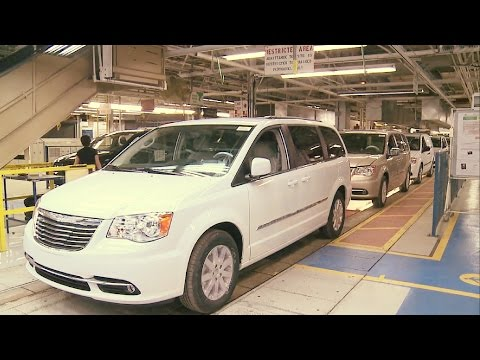 Dodge Grand Caravan Assembly Line