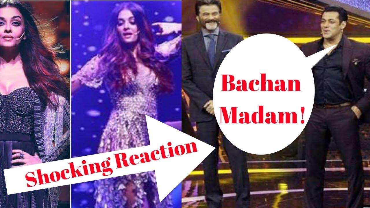 Salman Khan Reaction After Seeing Aishwarya Rai Bachan On -6158