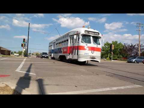 Kenosha Streetcar Circulator  2016 Featuring SEPTA 2185