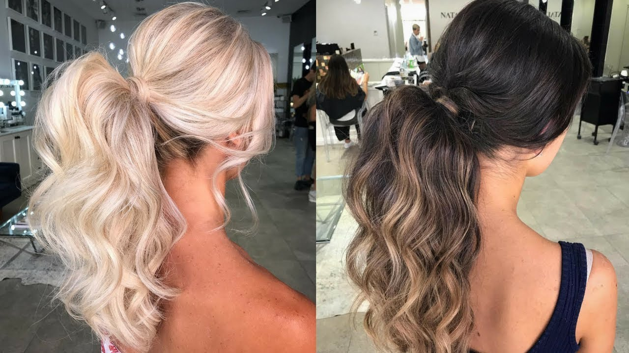 HOW TO MAKE VOLUMINOUS PONYTAIL Voluminous Hairstyles