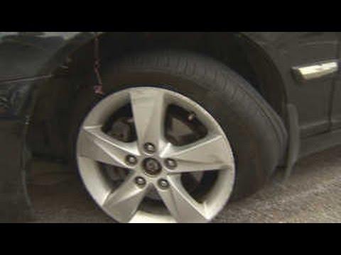 폭염에 도로도 지글지글…자동차 타이어 펑크 급증