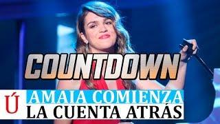 ATENCIÓN   Amaia Romero inicia la cuenta atrás después de su paso por Operación Triunfo