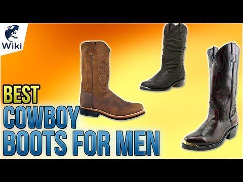 10 Best Cowboy Boots For Men 2018