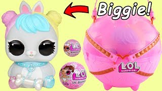 Searching for Bon Bon LOL Surprise Biggie Pets Lil Sister Unicorn