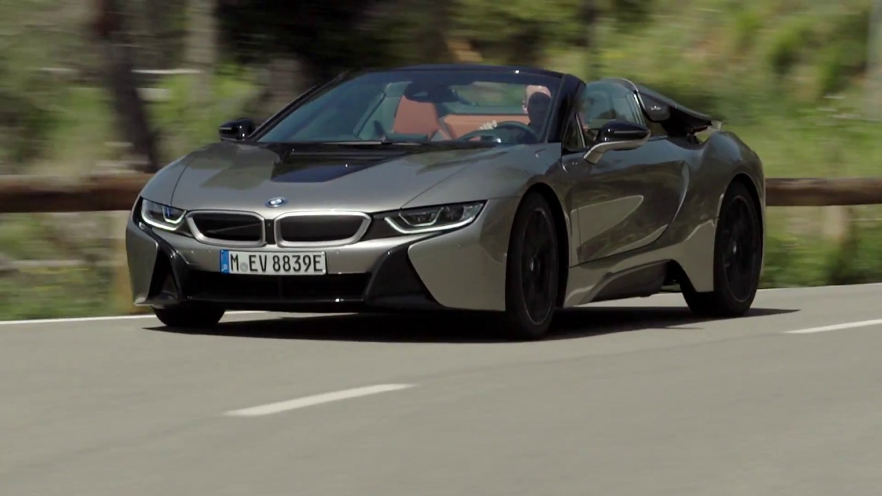 2019 Bmw I8 Roadster Donington Grey Driving Scenes Youtube