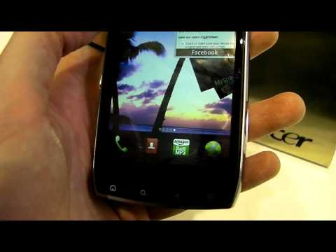 MWC 2011: Acer Iconia Smart 21:9 handset hands-on preview video
