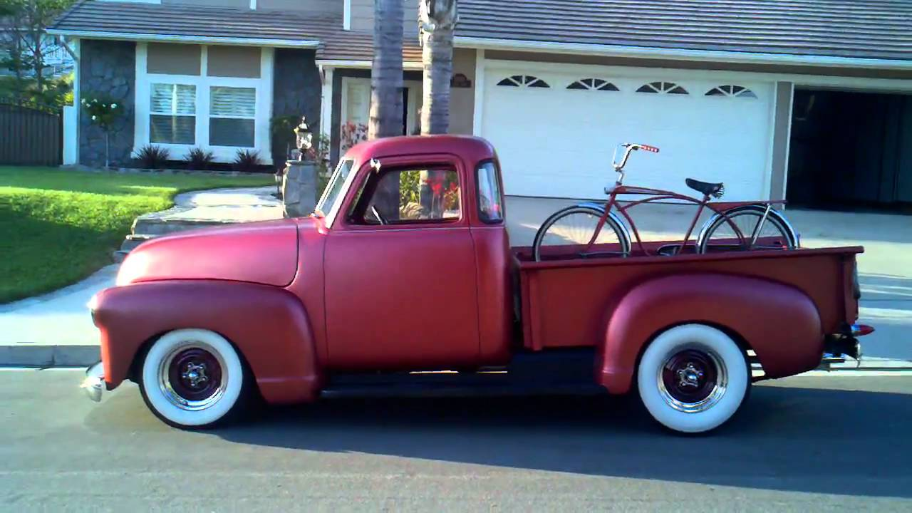 1950 chevy 5 window pick up youtube for 1950 chevy pickup 5 window
