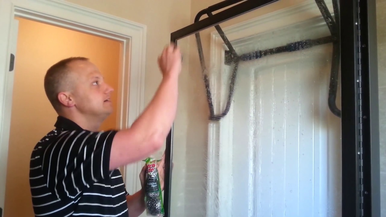 Its Easy To Clean Shower Doors If You Know This Trick Test For