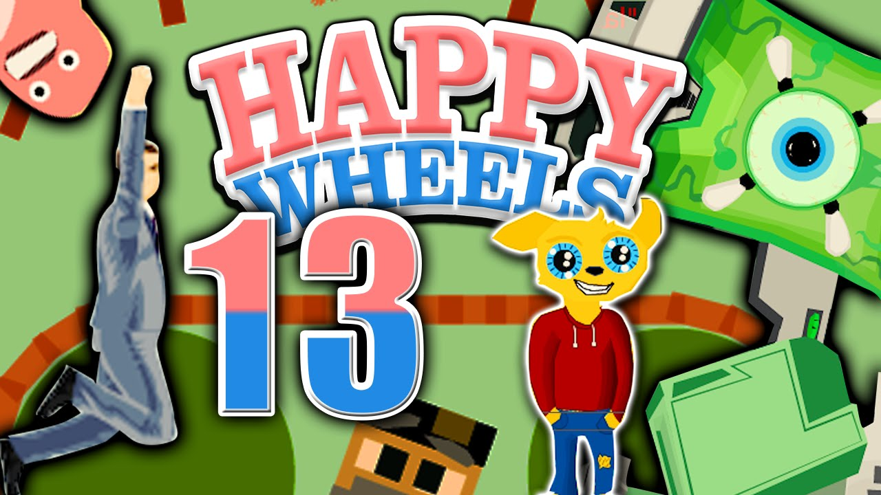 Let 39 s play happy wheels part 13 riesiger roboter - Let s play happy wheels ...