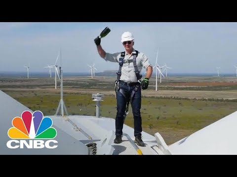 Amazon's Jeff Bezos Just Opened A Massive Wind Farm In Texas | CNBC