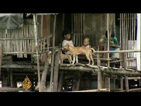 Land reclamation woes for Philippines fishermen - 25 Sep 09