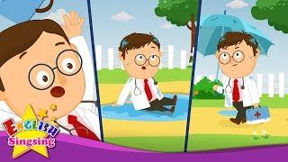 Doktor Foster - Türkçe çizgi film - Tekerleme video - İngilizce Şarkı sözleri ile Çocuklar
