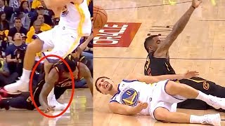 Klay Thompson Scary Injury | Game 1 NBA Finals 2018 (Random Moments Week 14)