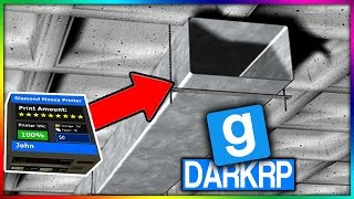 PRINTERS CACHÉS DANS UN CONDUIT SECRET INVISIBLE ! - GMOD DarkRP FR - MkProd