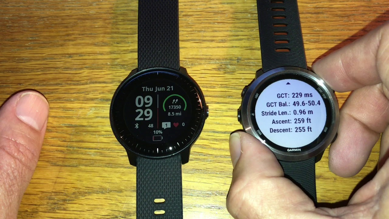 Vivoactive 3 music review and comparison with 645 music