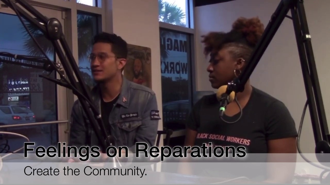 J. Green Expresses His Feelings on Reparations