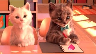 Download Little Kitten My Favorite Cat Pet Care Kids Games - Baby Learn Colours With Little Kitten Preschool Mp3 and Videos