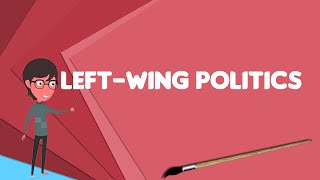 What is Left-wing politics?, Explain Left-wing politics, Define Left-wing politics