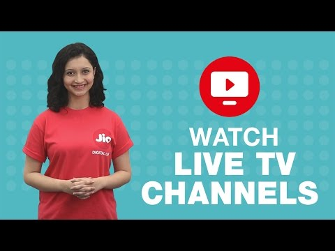 Jio TV - How To Watch Live TV Channels Or Programs On Jio TV | Reliance Jio
