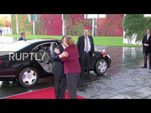 Germany: Putin, Poroshenko and Hollande arrive for Normandy Four talks