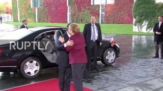 Germany: Putin, Poroshenko and Hollande arrive for Normandy Four talks