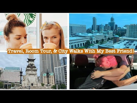 TWO GIRLS & THE CITY OF INDY! | VLOG