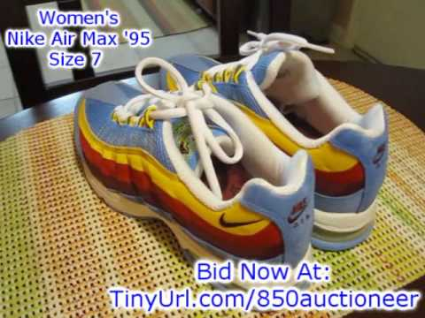 nike-air-max-women's-running-shoes-for-sale-size-7-dunk-force-jordan-ebay-auction