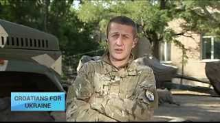 UT Exclusive: Croatian volunteer fighter helps Ukrainians defend their country